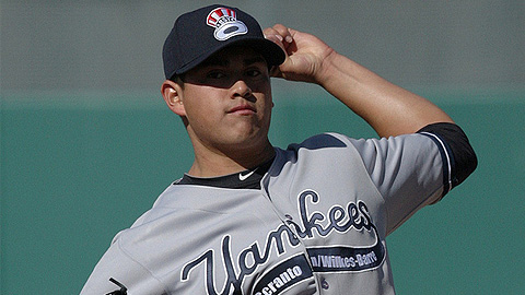 Manny Banuelos was winless in his first two starts of 2012.