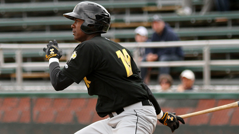Josh Bell was drafted out of Jesuit College Preparatory School in Dallas.