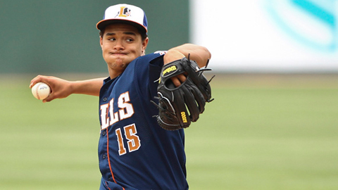 Chris Archer has pitched in the Indians', Cubs' and now Rays' organizations.